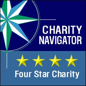 charity navigator four-star logo